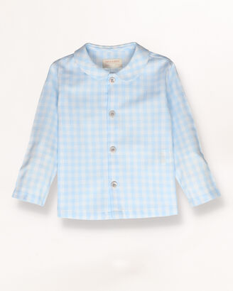 Checked baby shirt