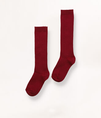 Long cherry socks