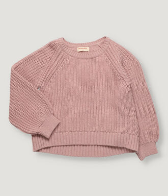 Pink girl pullover