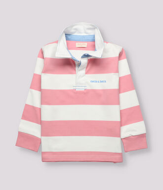 Combined rugby polo shirt