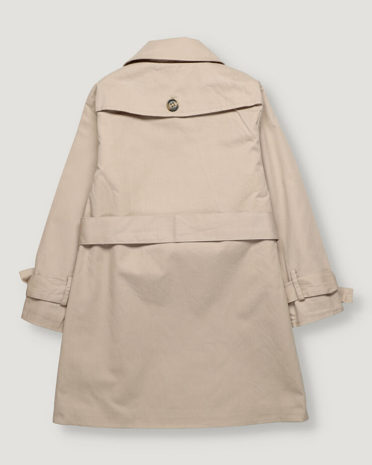 Beige girl trenchcoat