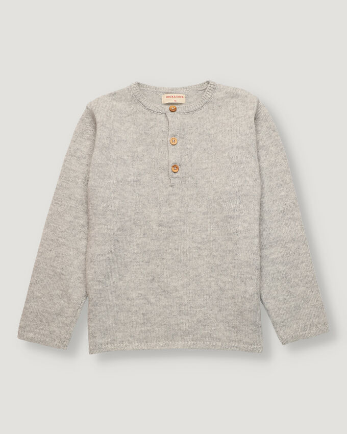 Light grey boy pullover