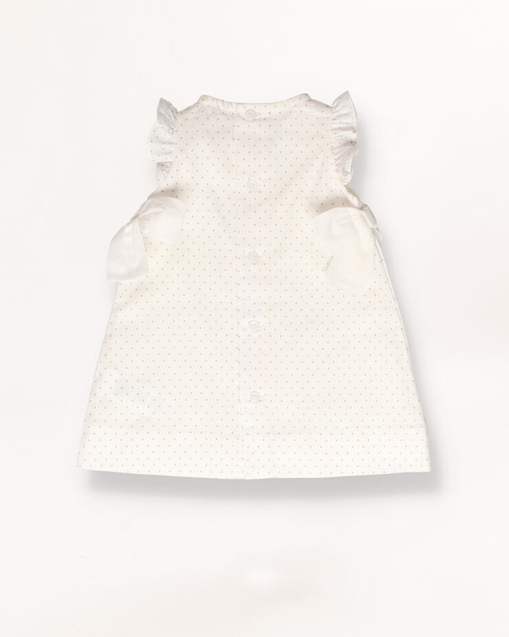Baby dress with bow