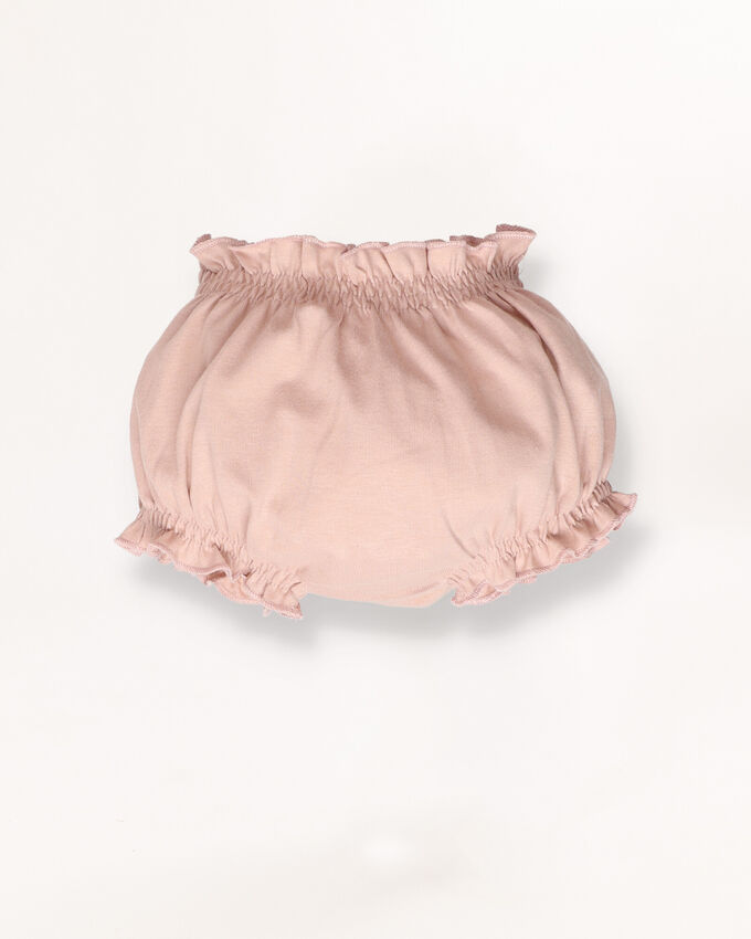 Dusty pink diaper cover