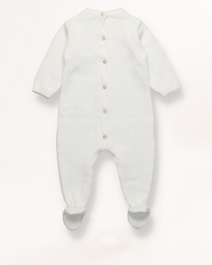Cable knit sleepsuit