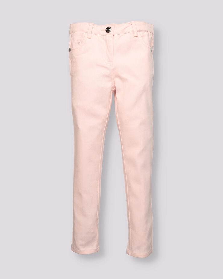 blue five pocket boy pants
