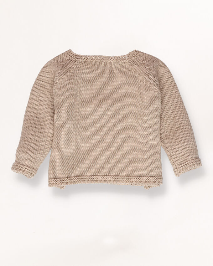 Knitted jumper with details