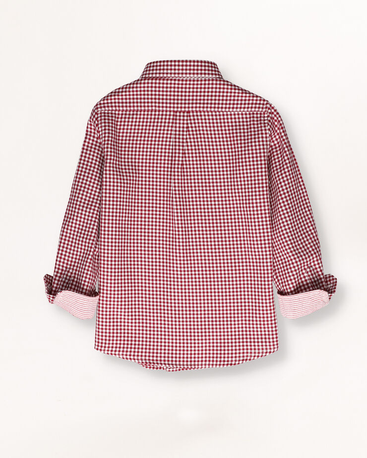 Checked cherry shirt