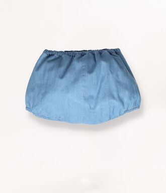 Denim diaper cover