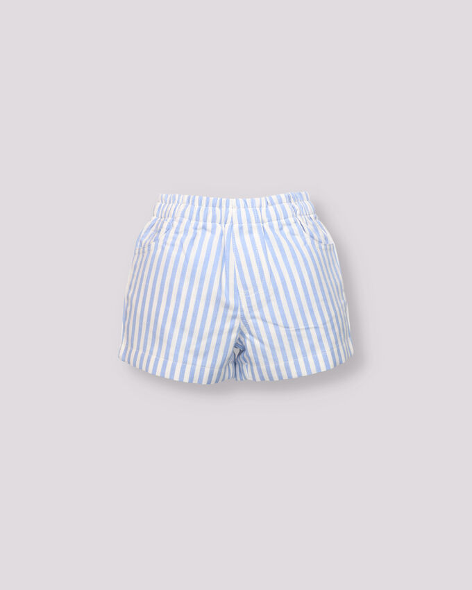 striped blue baby boy bermuda short